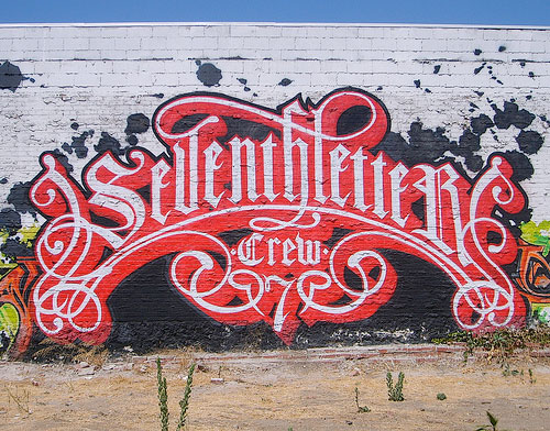 seventh letter crew graffiti wall