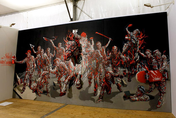 shaka 3d paintings artwork