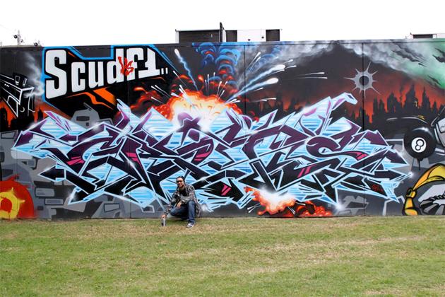 shem graffiti wall