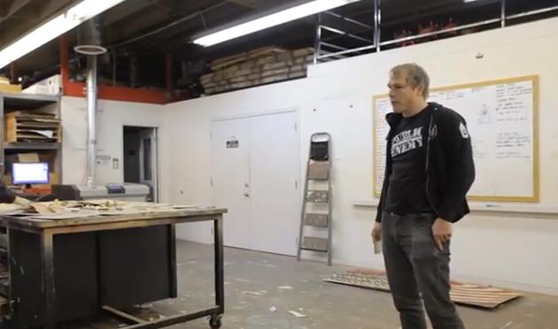 shepard fairey studio visit