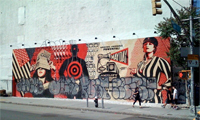 Shepard Fairey's New Mural in New York Dissed
