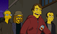 Shepard Fairey, Ron English, Kenny Scharf & Robbie Conal on The Simpsons