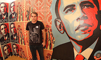 Shepard Fairy On Obama
