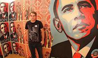 Shepard Fairy On Obama