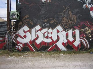 sherm graffiti
