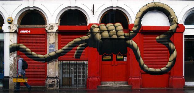 shok1 graffiti rope heart