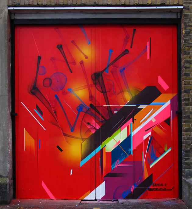 shok1 and remirough graffiti wall