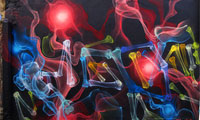 Shok1 X-Ray Style Graffiti
