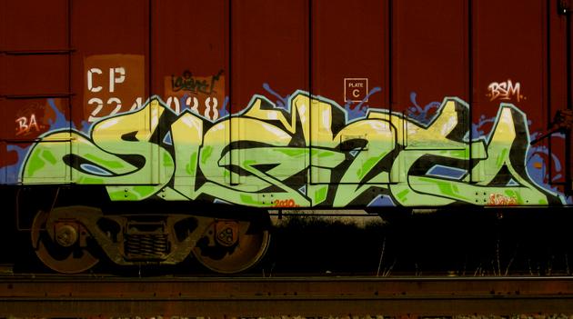sight boxcar graffiti