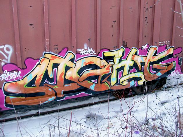 sight freight graffiti
