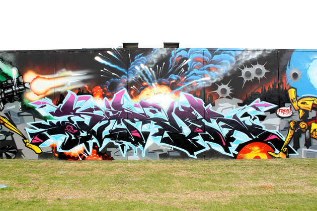 sirum graffiti wall