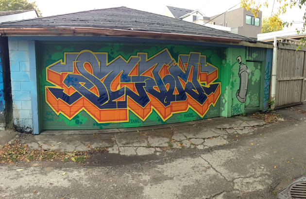 skam graffiti alley panorama