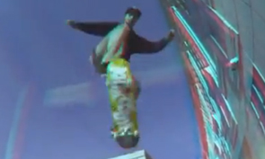 Skateboarding in 3D