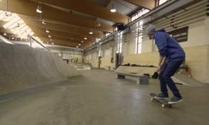 Teo Konttinen Skateboarding in Innsbruck