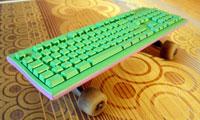 Skateboard + Keyboard = SkateKeyboard