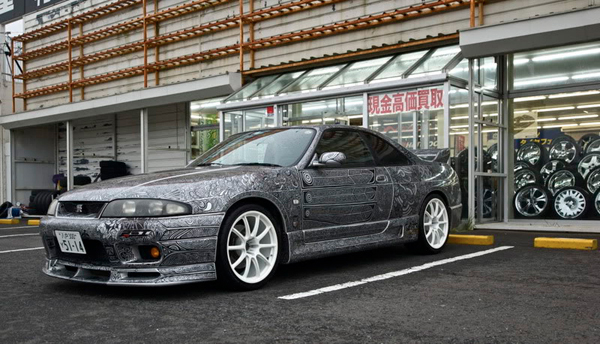 skyline gtr sharpie