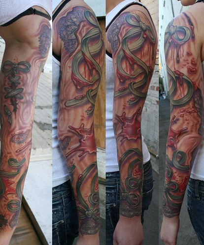 Kostechko . Lots of great depth and shadows in this particular tattoo