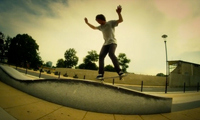 Slow Motion Skateboarding