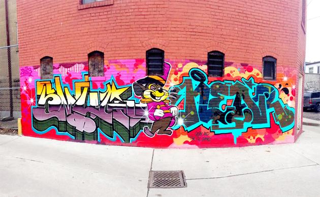 smug near graffiti toronto
