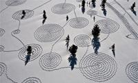 Snow Drawings in Colorado