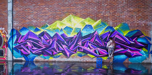 sofles graffiti video limitless