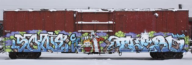 some therd graffiti
