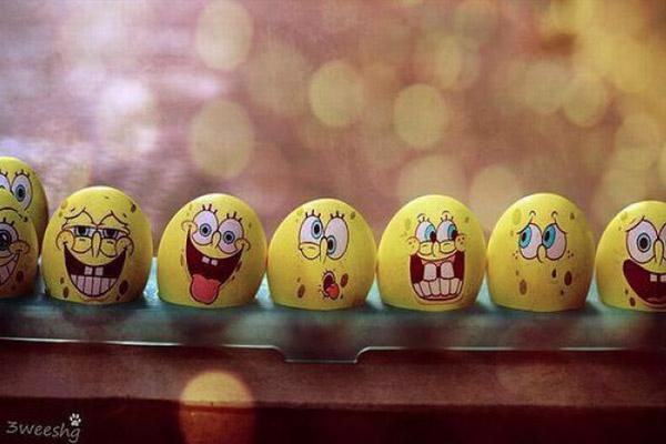 spongebob squarepants eggs