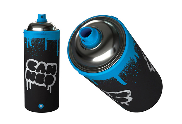 Spray Can Water Bottle Senses Lost