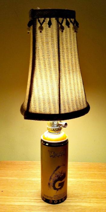 spray paint lamp montana gold