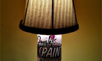 Spray Paint Lamps