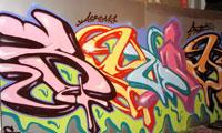 Squid KOG Graffiti Painting Video