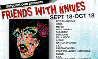 Stencil Group Show – Friends With Knives