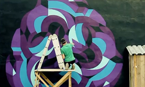 Stenograffiya Street Art Video