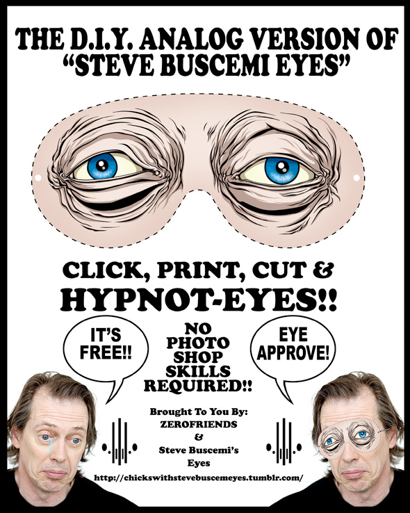 steve buscemi eyes template