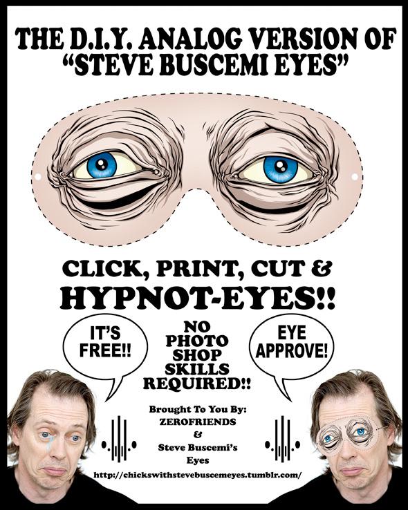 steve buscemi eyes template
