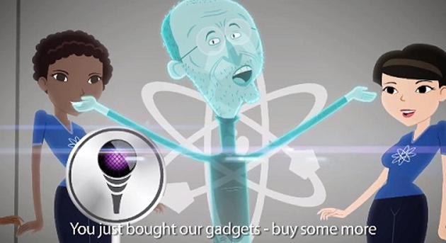 steve jobs hologram