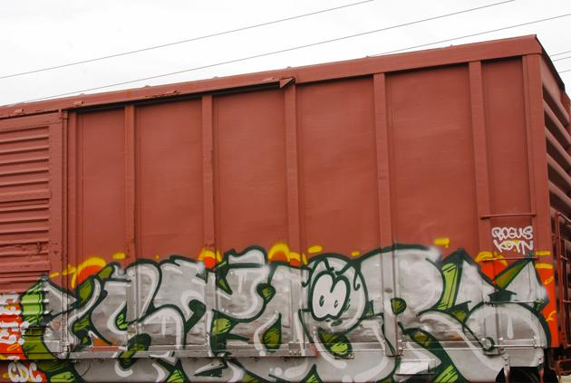 stoer graffiti boxcar