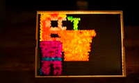 Light Brite Stop-Motion Animation