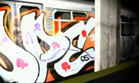 Subway Graffiti Animation