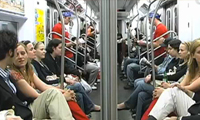 Subway Human Mirror