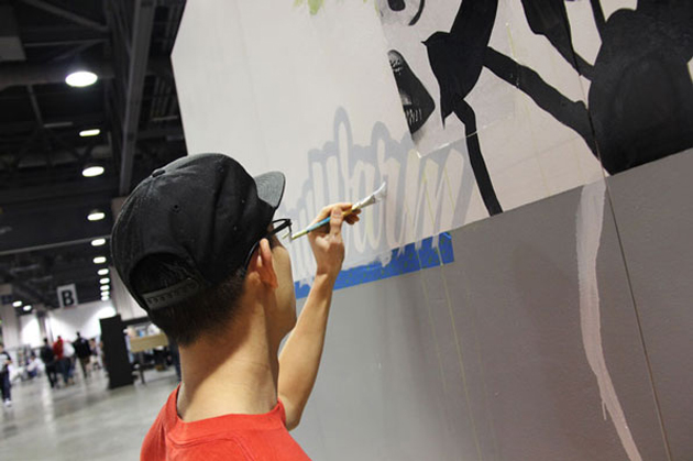 sueme painting at agenda