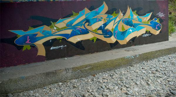 sueme graffiti wall