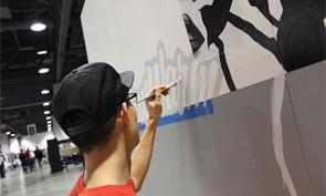 Sueme Painting at Agenda LA