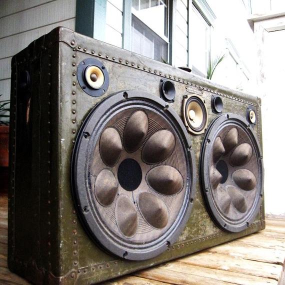 suitcase audio system