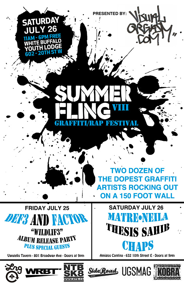 summer fling flyer 2014