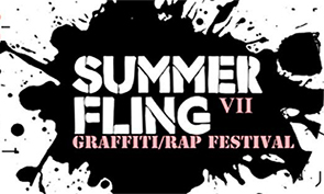 Summer Fling Graffiti Event 2013