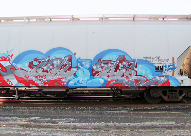 Sweat Graffiti Freight