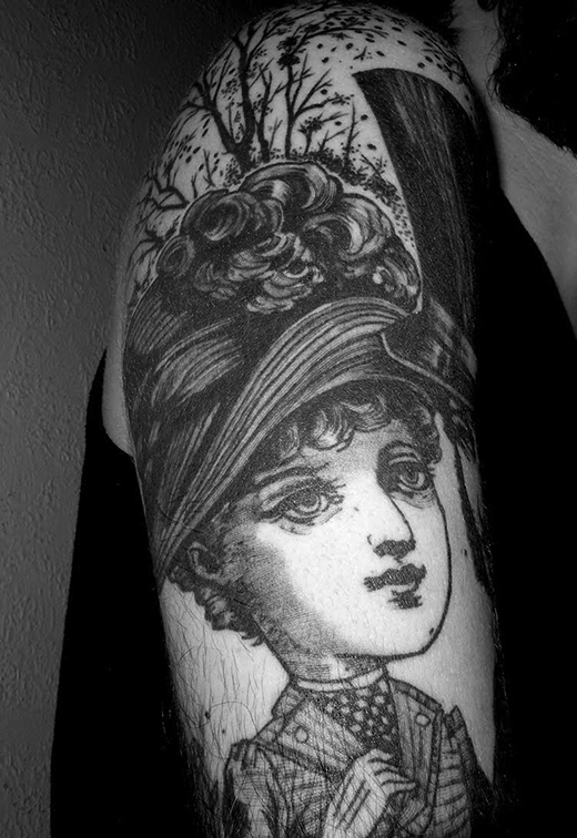 tattoo by Jean-Luc Navette
