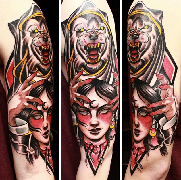 tattoo by Johnny Domus