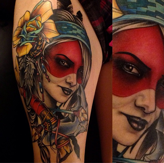 tattoo by coty vondracek
